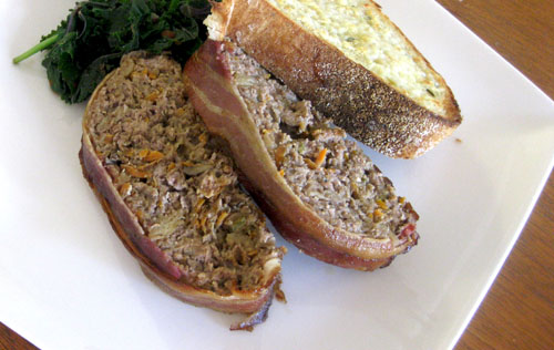 Stout And Cheddar Meatloaf Recipe — Dishmaps